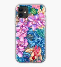 Orchidee-Spritzen iPhone-Hülle & Cover