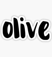 olive Sticker