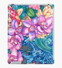 Orchid Splash iPad Case/Skin