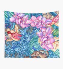 Orchid Splash Wall Tapestry