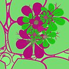 APPLE GREEN LEAFY by Claire Lydia Ray