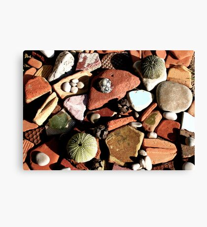 Found objects,Spain.. Canvas Print
