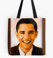 Barack Obama Color Tote Bag