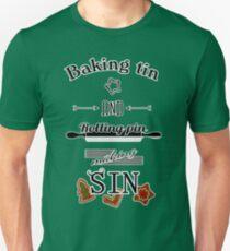 Tin and pin making sin T-Shirt