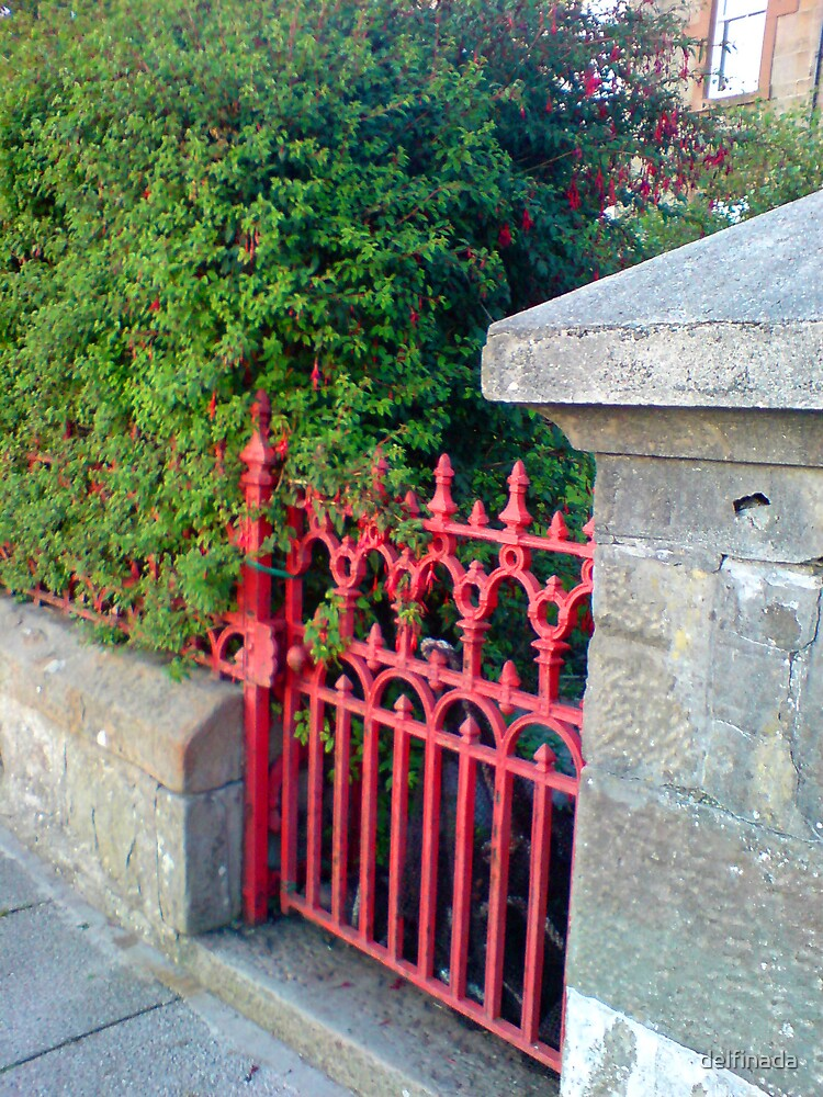 red gate by delfinada