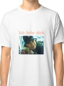 Andres Hamster German ich liebe dich Classic T-Shirt