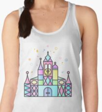 It's a Small World After All Colourful Castle Women's Tank Top
