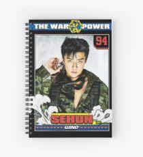 the war power exo sehun Spiral Notebook