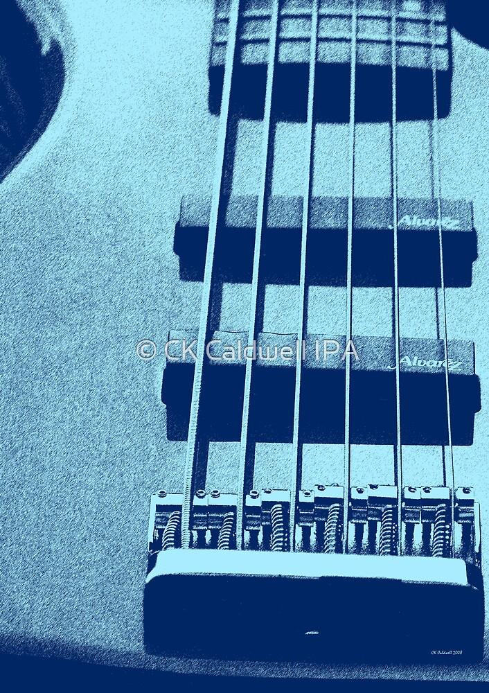 Blues Guitar by © CK Caldwell IPA