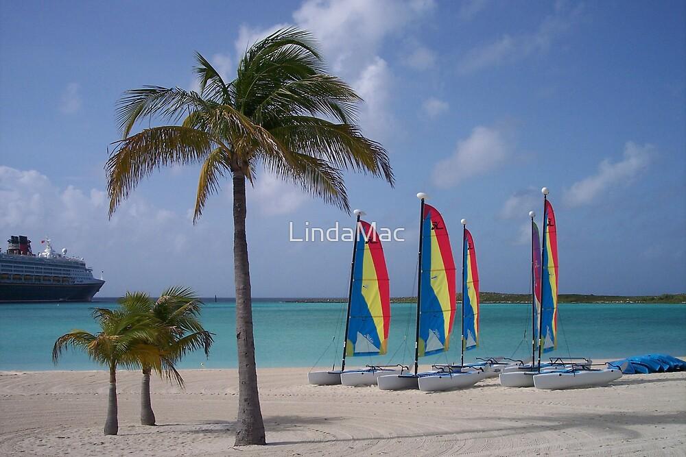 Castaway Cay Beach by LindaMac