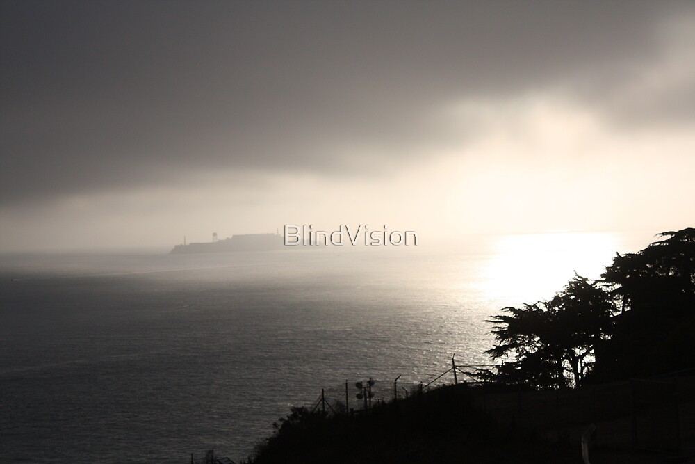 Alcatraz Sunrise by BlindVision