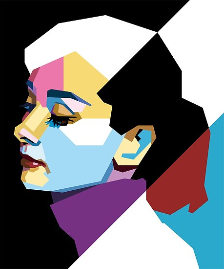 Audrey Hepburn WPAP Pop-Art\