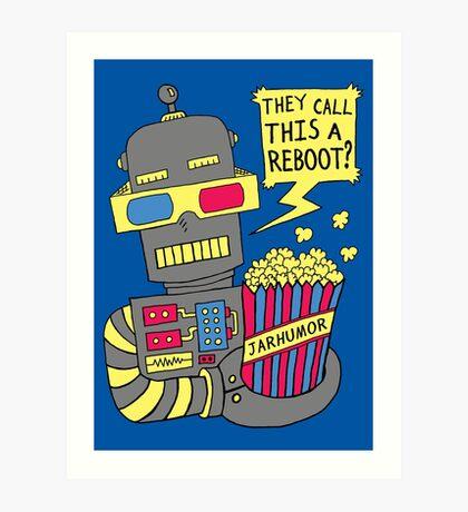 Robot Movie Reboot Lámina artística