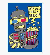 Robot Movie Reboot Photographic Print