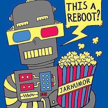 Roboter-Film neu starten von jarhumor