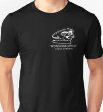 Rigby Nowhere Apatosaurus (white) T-Shirt