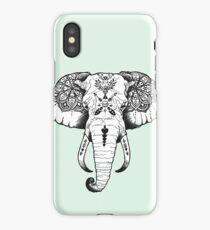 Elephant Tattooed iPhone Case/Skin