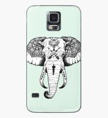 Elefant tätowiert Hülle & Klebefolie für Samsung Galaxy