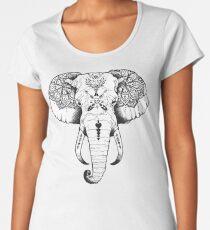 Elephant Tattooed Women's Premium T-Shirt