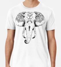 Elefant tätowiert Männer Premium T-Shirts