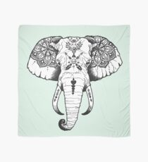 Elephant Tattooed Scarf