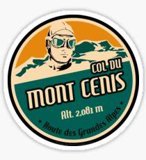 D902 Route des Grandes Alpes - Col du Mont Cenis Sticker