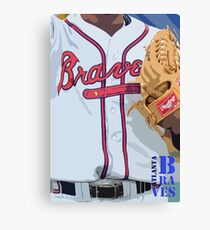 Atlanta Braves 1 Canvas Print