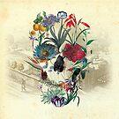 Botanical Skull by Ali Gulec