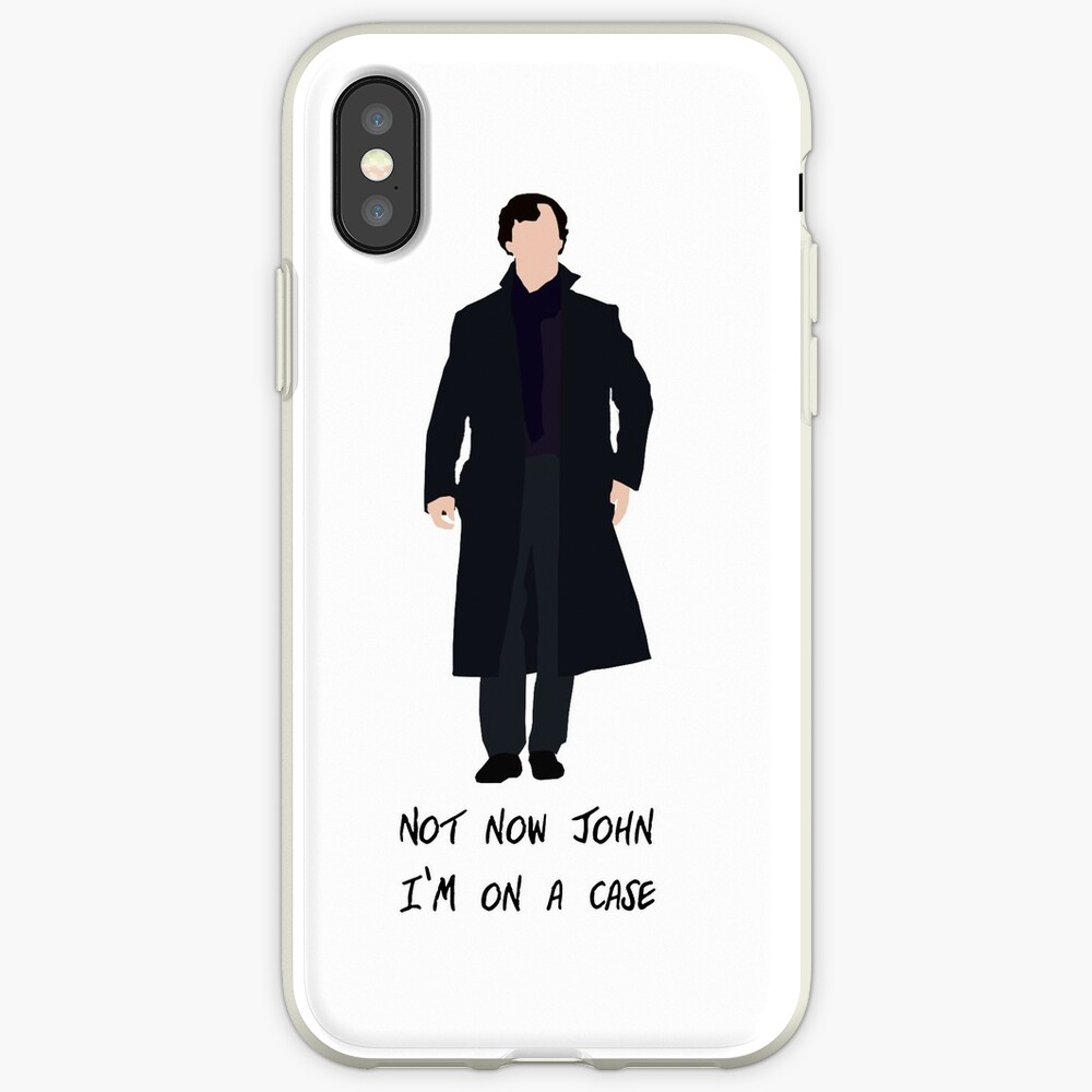 Sherlock Holmes Fall iPhone-Hülle & Cover