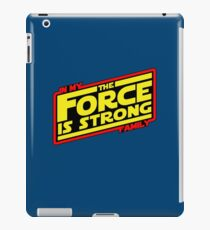 The force is strong... Retro Empire Edition iPad Case/Skin