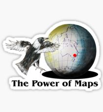 The Power of Maps Sticker