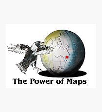 The Power of Maps Photographic Print