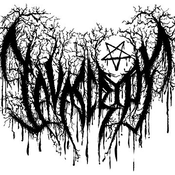 Javascript, Developer's Black Metal by charlizeart