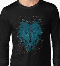 Kingdom Hearts - Feel the Darkness Long Sleeve T-Shirt