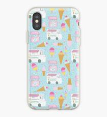 Icecream trucks iPhone Case