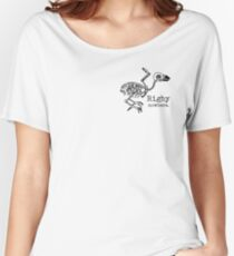 Rigby Nowhere Skelebird Women's Relaxed Fit T-Shirt