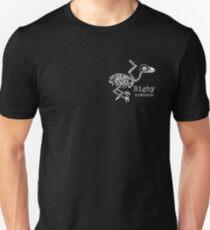 Rigby Nowhere Skelebird (white) T-Shirt
