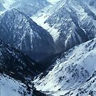 MOUNTAIN PASS, AFGHANISTAN by Ben Pendleton