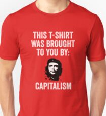 Che Guevara Capitalism  Unisex T-Shirt