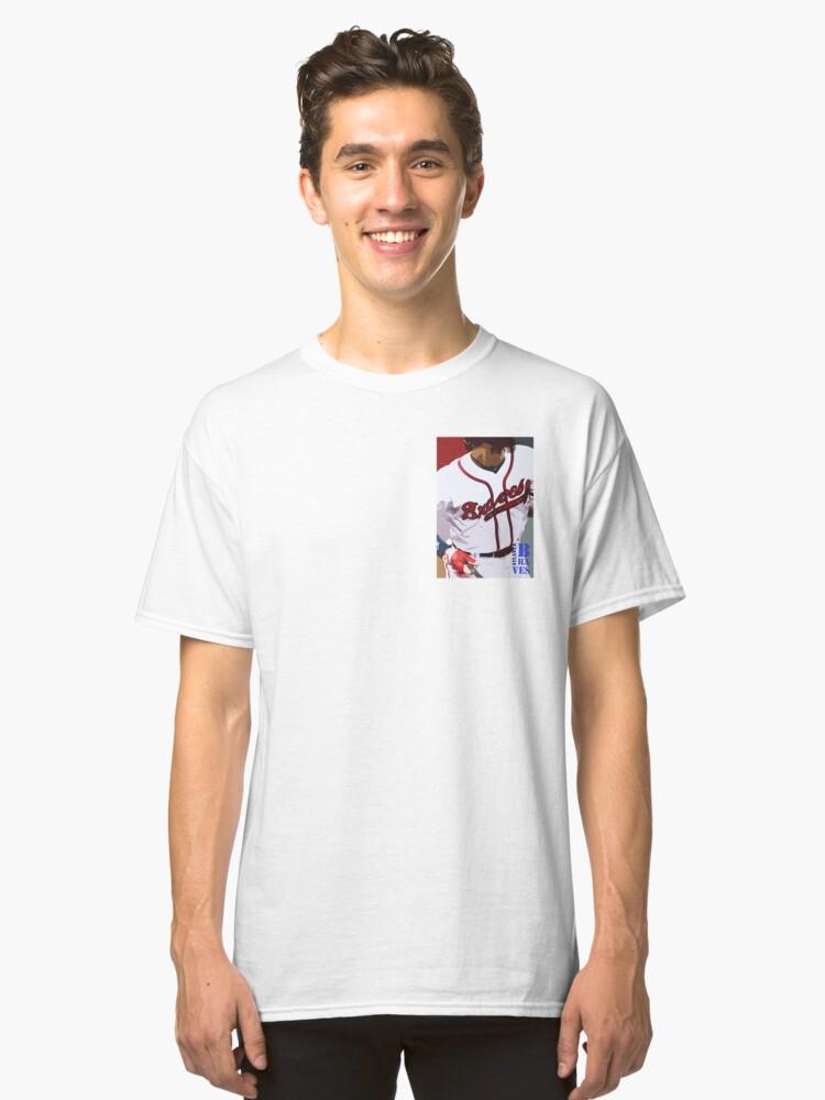 Atlanta Braves 3 Classic T-Shirt Front