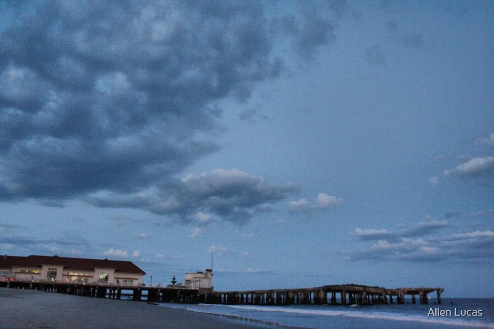 Seen better days - Atlantic City NJ by Allen Lucas