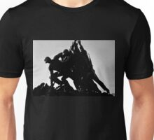 Iwo Jima 5BW watercolor Unisex T-Shirt