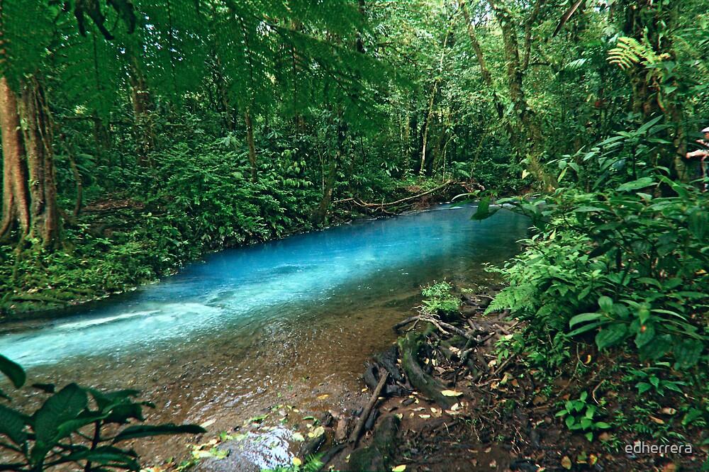 rio celeste, Costa Rica by edherrera