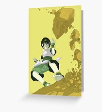Toph Greeting Card