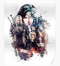 The Witcher - Hunt your enemies Poster