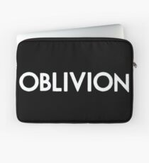 Oblivion (white) Laptop Sleeve