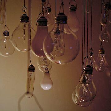 Hanging Lightbulbs by Dyceus
