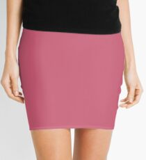 Fruit dove  Pink | Solid colour Mini Skirt