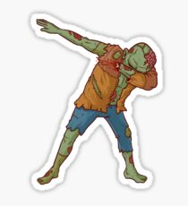Zombie Dab COOL DESIGN Sticker