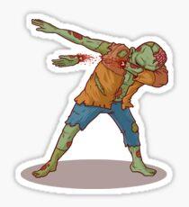 Zombie Dab, Zombie - Zombie Dab Merch Sticker